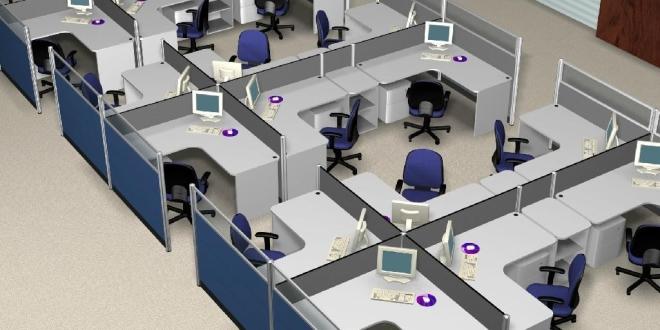 Thiết kế văn phòng công ty nhận diện thương hiệu